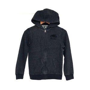 ROOTS Kids Zip Up Sweatshirt Hoodie